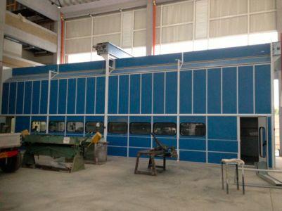Cabina Horno Pintura Industriales Maxi Range
